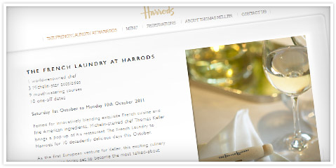 The French Laundry at Harrods