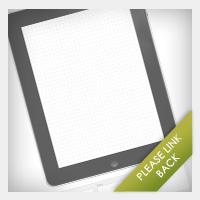 iPad wireframe
